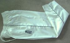 WHITE CRICKET TROUSER WITH ENGLAND LOGO MENS TEST SMALL-2XL MENS