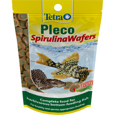 TETRA PLECO 2 IN 1 MULTI WAFERS, Algae concentrate, sinking fish food,