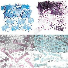 Baby Girl Boy Pink Blue Christening Confetti Table Sprinkles Party Decorations