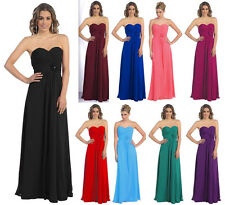 FLATTERING BRIDESMAIDS COCKTAIL DRESS HOMECOMING EVENING FORMAL GOWN PARTY 6~26