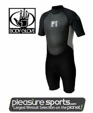Mens Body Glove Pro3 Springsuit Wetsuit Pro 3 2mm Shorty SMALL