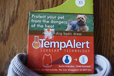 TEMP ALERT SHIRTS FOR DOG OR CAT SIZE  * XS * PLANT PETCO * 3 STYLES * FREE SHIP