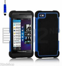 NEW SHOCK PROOF CASE COVER For BlackBerry Z10 BB 10 + SCREEN PROTECTOR +STYLUS