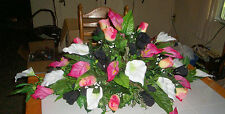 Designs by Debby Silk Centerpieces:Round~Oblong~Any Style~Color~Design~Flowers