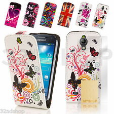 PU LEATHER FLIP CASE COVER FOR SAMSUNG GALAXY S3 MINI i8190 SCREEN PROTECTOR