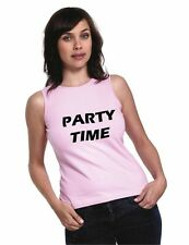 Printed Ladies Tank Top In Various Sizes & Colours Ideal For Hen Parties