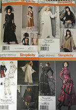 GOTHIC Steampunk & ArkiVestry paper patterns -  Assorted designs & sizes