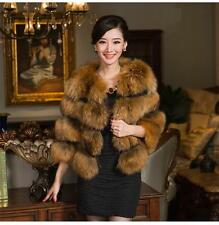 90172 new real raccoon fur nature color  jacket/coat/outwear