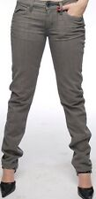 Lip Service Chicks Junkie Fit Jeans - Platinum Denim - Skinny Gray Colored