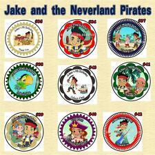 Jake and The Neverland Pirates Birthday Stickers Candy Wrap & more Personalized