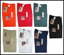 """Dickies Men's Loose Fit 13"""" Uniform/ Work Shorts with Cellphone Pocket 42283"""