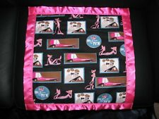 Handmade Pink Panther Personalized Cotton & Fleece Blanket in Different Sizes