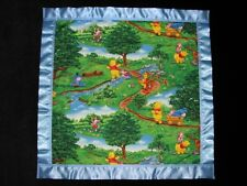 Winnie the Pooh Personalized Cotton & Fleece Blanket in Different Size