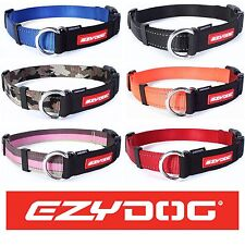 EzyDog Checkmate Martingale Training Dog Collar Stops Pulling Half Choke Ezy Dog