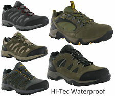 New Mens Hi-tec Alto Low Waterproof Lightweight Hiking Shoes Trainers Size 7-13