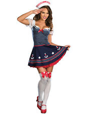 Sexy Women Marine Sailor Outfit Costume Halloween Fancy Dress Cosplay Party M XL