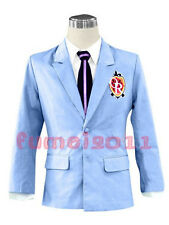 COS Anime Ouran high school Host Club cosplay costume jacket/shirt/tie