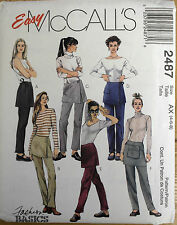 *clearance* TROUSERS CROP PANTS & SHORTS  paper patterns :assorted designs