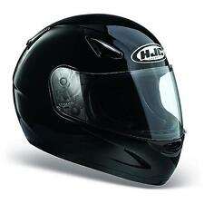 HJC CS-14 PLAIN BLACK HJC Motorbike Motorcycle Full Face Helmet