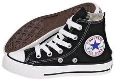 Converse Chuck Taylor 3J231 Youths Black Hi Top Sneakers Shoes