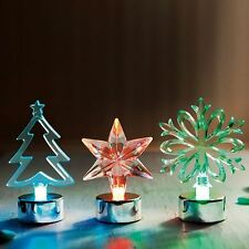Mini Table Top Battery Operated Acrylic Christmas Lights