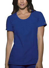 Galaxy Cherokee Workwear Round Neck Scrub Top 4761 GABW