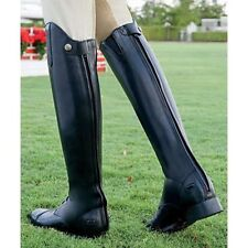 NEW ARIAT WOMENS BLACK ENGLISH RIDING CHALLENGE FIELD BOOTS ZIP2