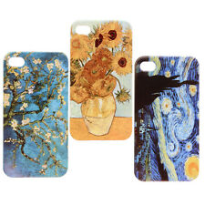 Van Gogh Article Classic Pattern Design Hard Back Case Cover For iPhone 4 4S