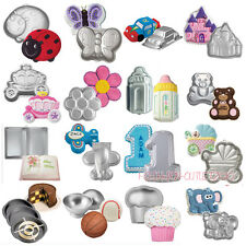 Various Novelty Fondant Cake Muffin Pan Tins Decorating Mould Kitchen Paste Tool