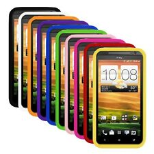 Silicone Soft Rubber Skin Cover Case for HTC Evo 4G LTE