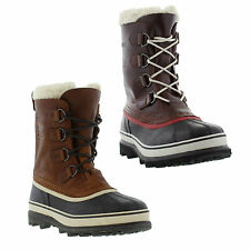 New Sorel Caribou Real Wool Mens Waterproof Boots Shoes Size UK 7-13