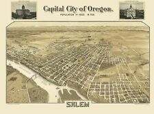 SALEM OREGON (OR) BY MUTUAL L. AND LITH CO. 1905