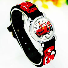 New Cute Cartoon Car 3D Child Watch Cartoon Children Watches Christmas gift CT5