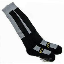 Klim 2014 Men's Moisture Wicking Coolmax / Merino Wool KLIM Socks - Gray / Black