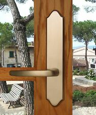 FPL Tuscany Privacy Door Lever Set & Back Plates; Bedroom and Bathroom Doors
