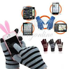 Unisex Magic Capacitive Touch Screen Hand Warmer Gloves Mitts for iPhone 5S 4S