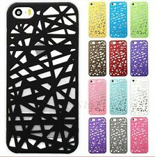 Hollow Bird Nest Snap On Hard Back Phone Case Cover For Apple iPhone 5 5s