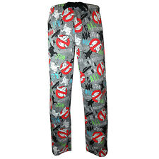 OFFICIAL GHOSTBUSTERS GHOSTS & GHOULS LOUNGE PANTS - Retro Pyjama Bottoms
