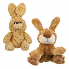 """Just"" Plush Voice Recording Talking Teddy Pet Animal Baby Toys Soft Xmas Gift"