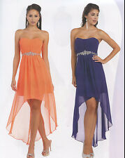 12 COLORS COCKTAIL BRIDESMAIDS HOMECOMING SHORT PROM FORMAL DRESS BALL GOWN 4-20