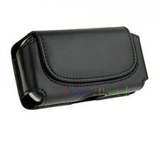 Black Belt Leather Skin Pouch Case Cover FOR Samsung Galaxy 2013 Latest Model
