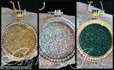 1x MEDIUM GENUINE CRYSTAL COIN/MONEDA ONLY FOR MI MILANO NECKLACE PENDANT/KEEPER