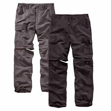 SURPLUS OUTDOOR TROUSERS QUICK DRY Trekking Zip Off Cargo Hose Savannah Function