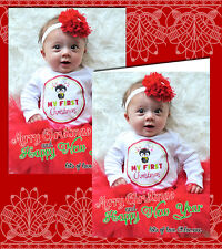10 Personalised Christmas Greeting Cards Thank You Happy New Year YOUR OWN PHOTO