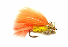 3x, 6x or 12x Fly Fishing Trout Flies (SCOT53) - GARFIELD FRITZ LURE - Trout Fly