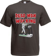 Big - DEAD MAN WALKING - BANG - T-Shirt S-XXL grau Theory NEU TV Zombie