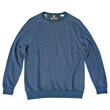 LEVI'S MADE AND CRAFTED CREW SWEATSHIRT TRUE BLUE MELEE RRP £90