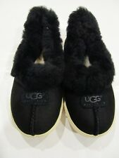 New Box UGG Australia Boy Girls Black Rylan Suede SlipOn Slipper Sneakers 13 1 2