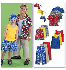 McCalls Sewing Pattern 6099 Children's Active Wear - Choice of Sizes