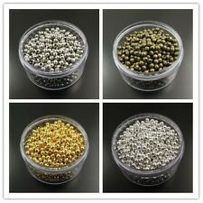 2MM 3MM 4MM New Fashion Iron Round Beads Charm Jewelry Finding Hot Sale 90013